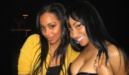 Lauren London Nicki Minaj