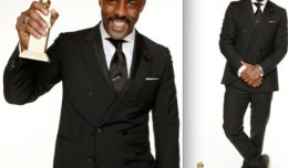 Idris Elba wins at the Golden Globe Awards