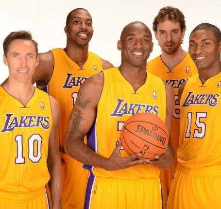 Los Angeles Lakers Starting 5